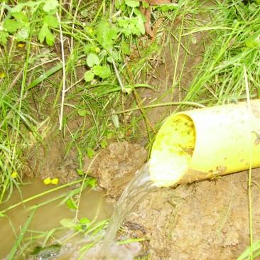Exutoire de drainage