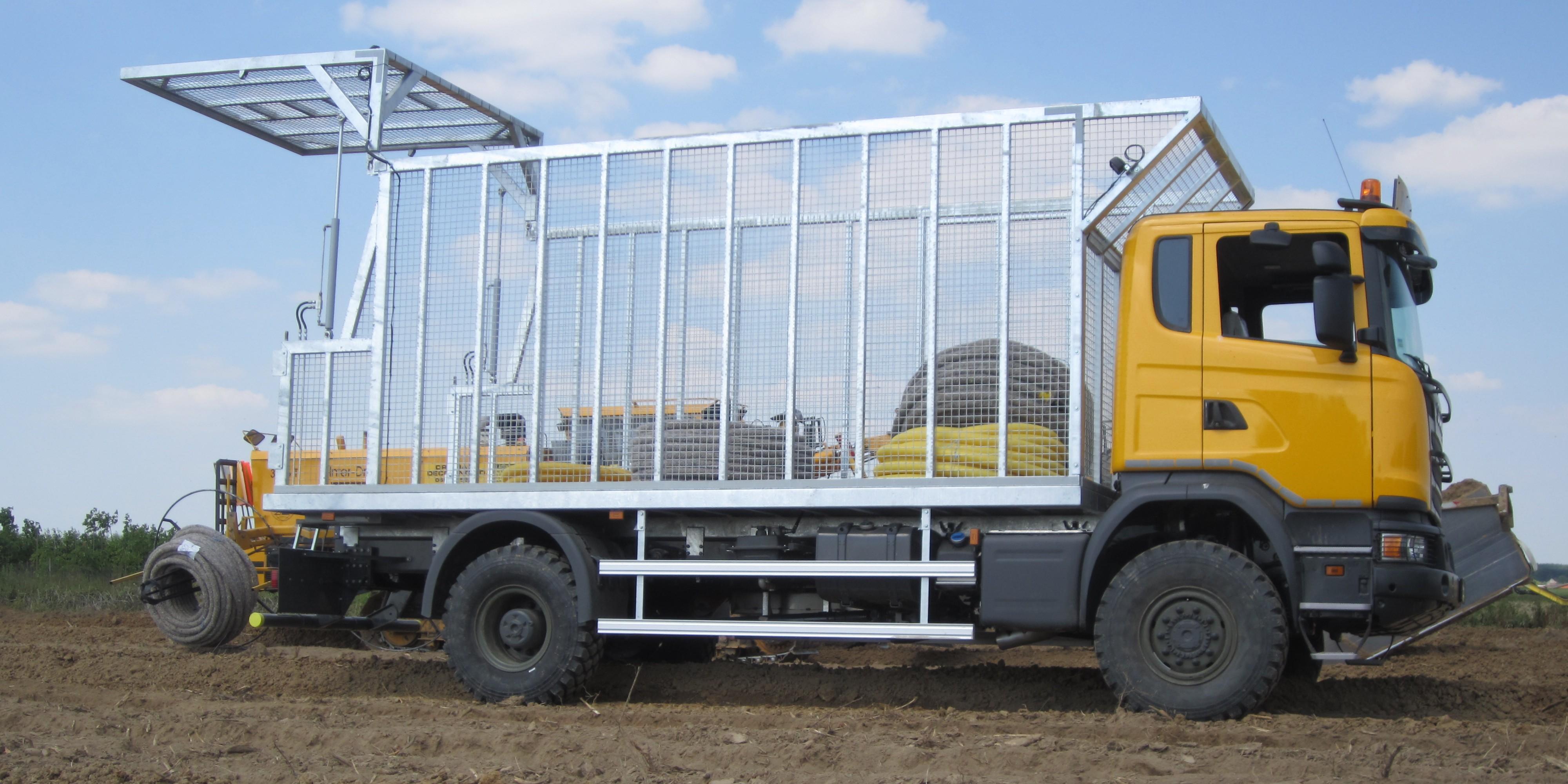 Transport sur les chantiers