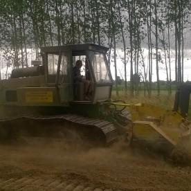 Nouvelle activité de broyage forestier